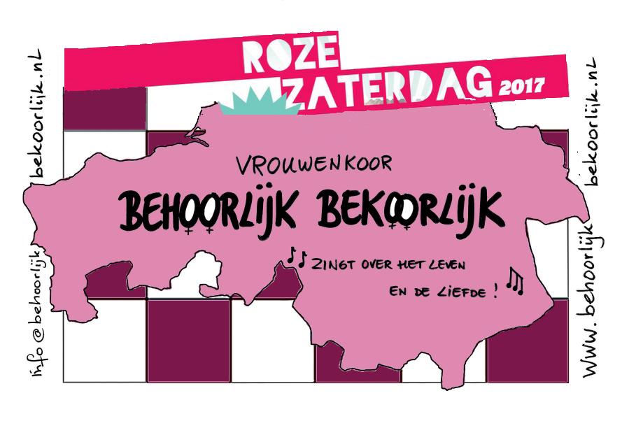 Roze Zaterdag 2017 Den Bosch